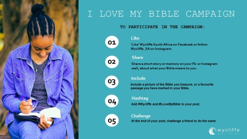 Ilove My Bible Campaign Final